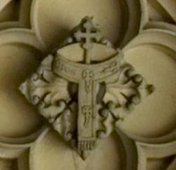 Wolsey's Pallium & Processional Cross