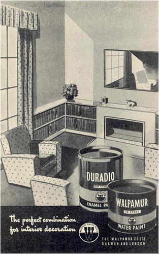 Walpamur Water Paint and Duradio Enamel Paint