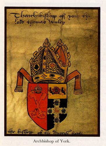 Cardinal Wolsey's Arms