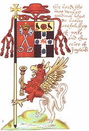 The Banner of Arms of Cardinal Wolsey