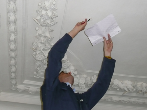 Patrick Baty Sampling the Ceiling