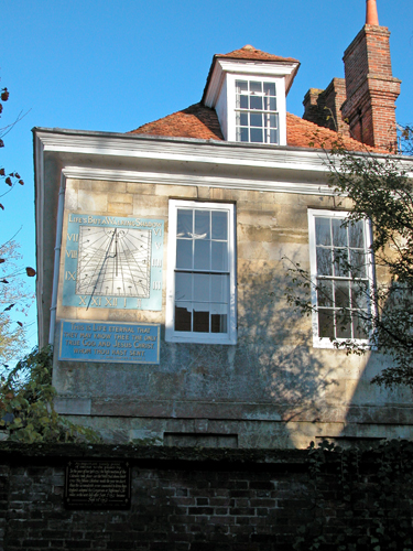 Malmesbury House - Sun Dial