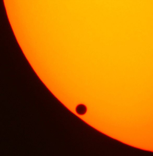 Transit of Venus - © Copyright Jan Herold (German Wikipedian)