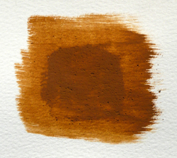 Brushout of Oxford Ochre