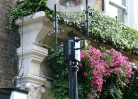 Gas Lighting Column