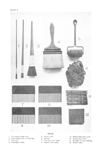 Graining Tools - William Wall Graining: Ancient and Modern