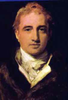 Robert Stewart, Viscount Castlereagh by Sir Thomas Lawrence via Wikipedia