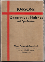 Parsons' Decorative Finishes - Cover