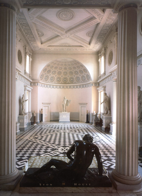 Syon House - Great Hall: John Fowler scheme