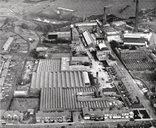1955 aerial view of Walpamur works
