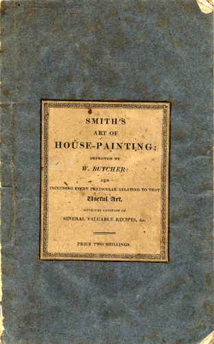 Butcher - Smith's Art of House-Painting