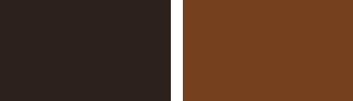Chocolate Colour and Walnut Colour