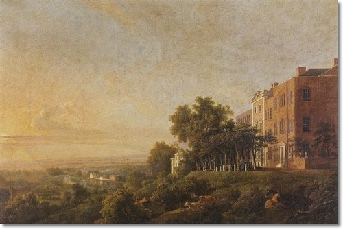 George Barret - Queen's Terrace, Richmond