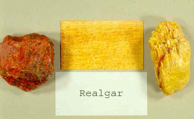 Realgar & Orpiment