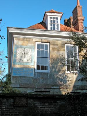 Sun Dial - Malmesbury House, Salisbury