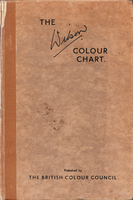 The Wilson Colour Chart Cover