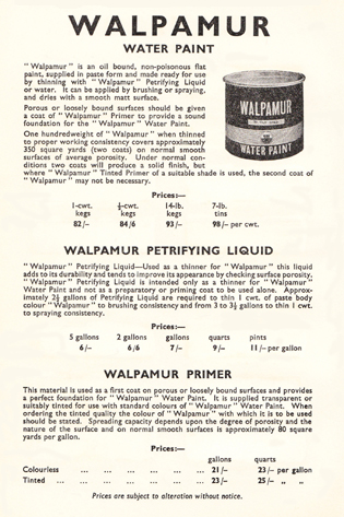 Walpamur instructions