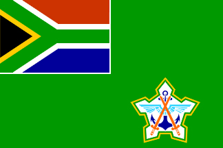 South African National Defence Force Flag (1994 - 2003) - image by Martin Grieve