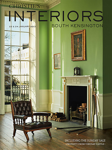 Pea Green in Georgian Group Headquarters - © Christie's