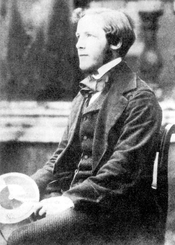 James Clerk Maxwell & Disk 1855 - Courtesy of the James Clerk Maxwell Foundation