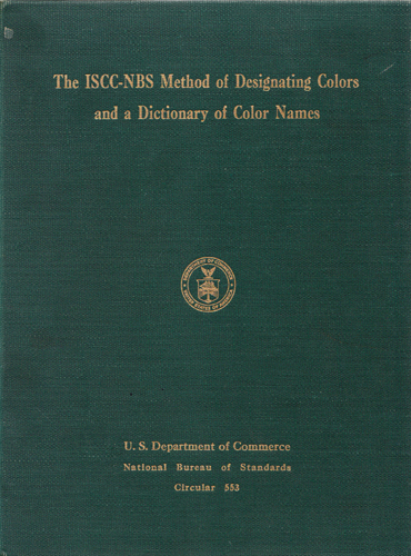 ISCC-NBS cover