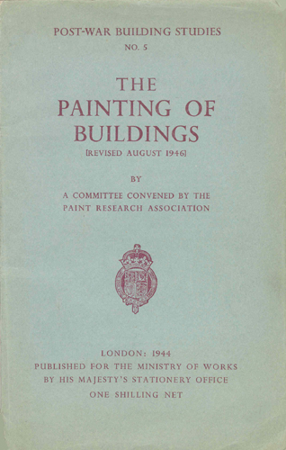 The Painting of Buildings - 1946