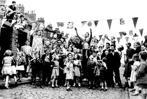Coronation Street Party 1953