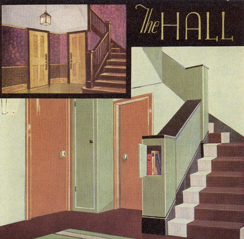 The 1930s house 1 patrick baty historical paint for Bathroom design 1930 s home
