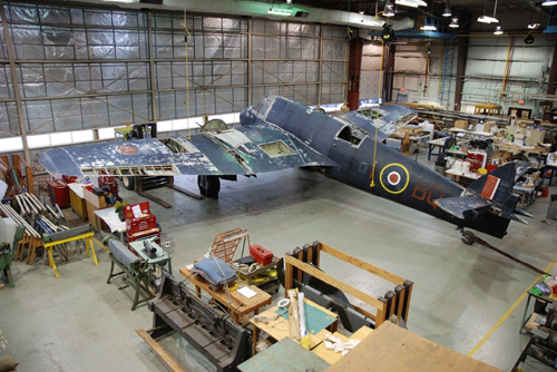 Bristol Beaufighter - with permission of Canada Aviation and Space Museum