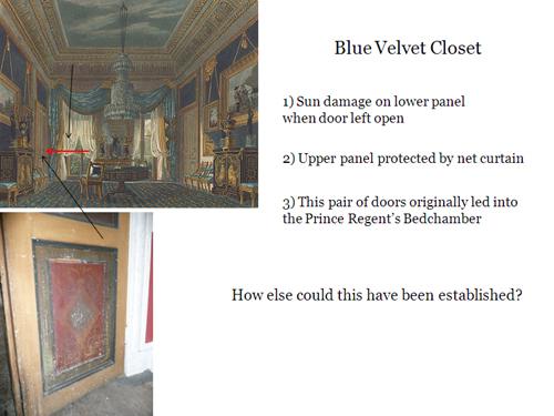 Blue Velvet Closet