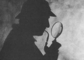 Sherlock-holmes-and-magnifying-glass - Credit Nisheeth