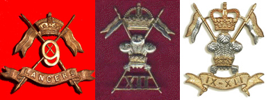 Three Cap Badges