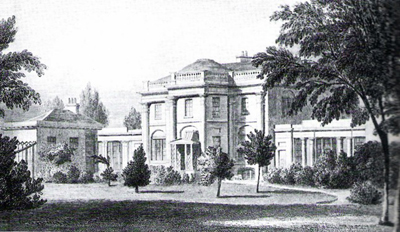 Dover House, Putney, in the 19th century
