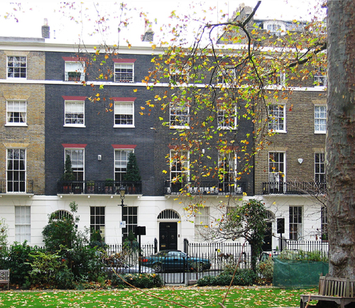 Connaught Square - A Typical House