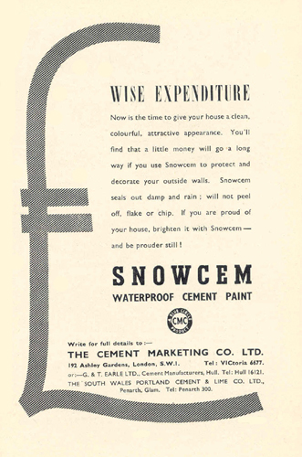 Snowcem Cement Paint