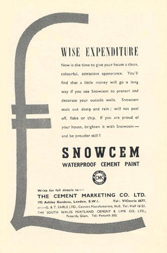 Snowcem Cement Paint