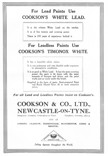Cookson's Timonox White