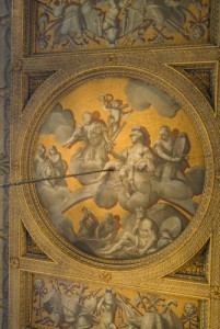 Stowe House, North Hall ceiling