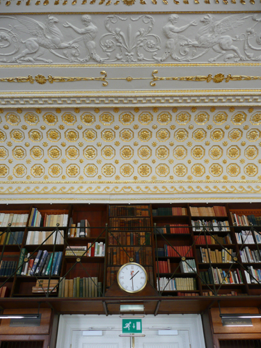 Stowe - Library - Section of Ceiling