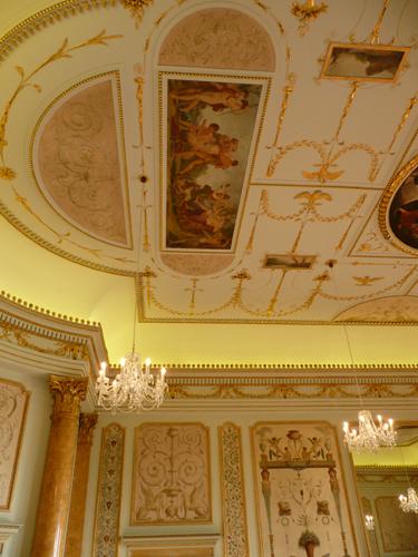 Stowe - Music Room Ceiling