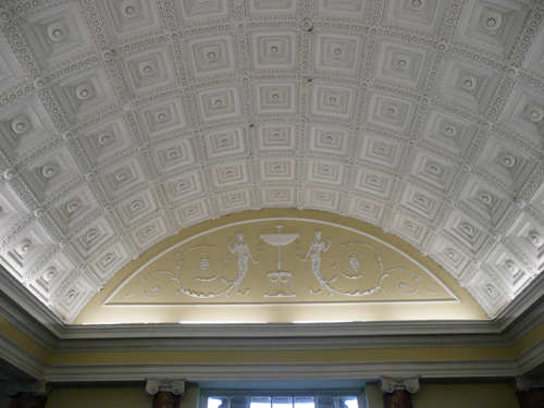 Stowe - Queen's Temple - Ceiling