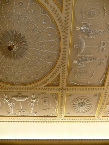 Stowe - State Drawing Room - Ceiling