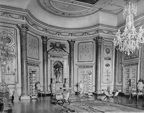 Stowe - Music Room in 1905