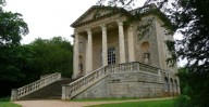Stowe - Queen's Temple - Front Elevation