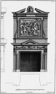 North Hall - chimney piece