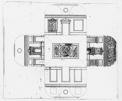 North Hall - laid flat plan - Kent