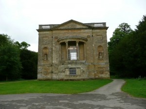 Stowe - Queen's Temple - Rear Elevation