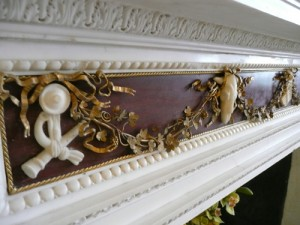 Stowe - Rosso Antico Chimneypiece