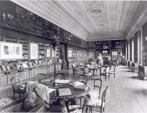 Stowe - Large Library c1894