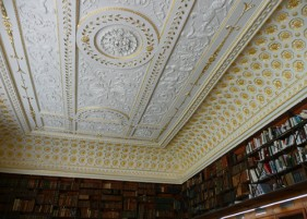 Stowe - Library Ceiling
